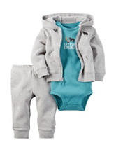 Carter's® 3-pc. Little Wild One Bodysuit & Leggings Set – Baby 0-12 Mos.