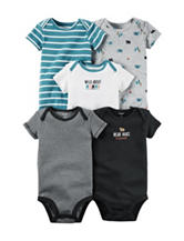 Carter's® 5-pk. Little Wild One Bodysuits Set – Baby 0-3 Mos.