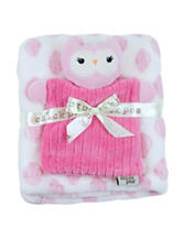 Baby Gear Owl Velboa Buddy Blanket