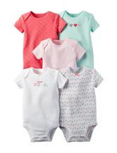Carter's® 5-pk. Hello Cutie Bodysuits – Baby 0-24 Mos.