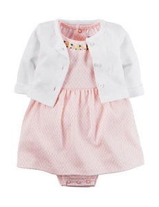 Carter's® 2-pc. Little Blooms Cardigan & Dress Set – Baby 0-12 Mos.