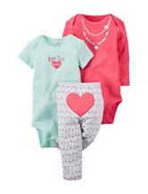 Carter's® Hello Cutie Bodysuit & Leggings Set – Baby 0-9 Mos.