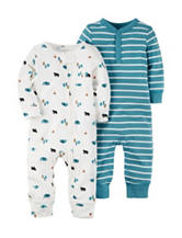Carter's® 2-pk. Little Wild One Bodysuit Set – Baby 0-9 Mos.