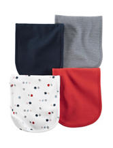 Carter's® 4-pk. Sports Theme Print Burp Cloths