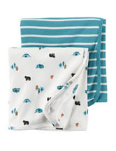 Carter's® 2-pk. Great Outdoors Swaddling Blankets