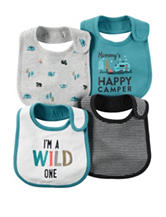 Carter's® 4-pk. Little Wild One Bibs