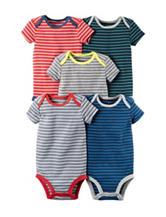 Carter's® 5-pk. Stripe Print Bodysuits – Baby 0-9 Mos.