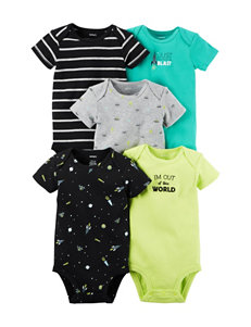 Carter's® 5-pk. Space Bodysuits - Baby 0-9 Mos.