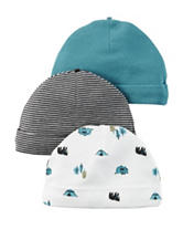 Carter's® 3-pk Great Outdoors Collection Hats