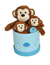 Cloud B Hugginz Gift Box Monkey