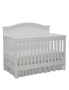 Fisher-Price White Del Mar Convertible Crib