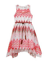 Emily West Chevron Crochet Dress - Girls 7-16