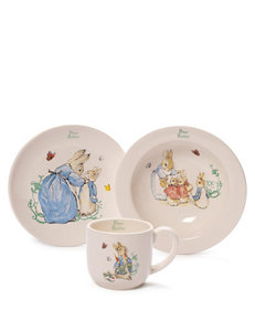 Gund 3-pc. Peter Rabbit Cup And Dish Set