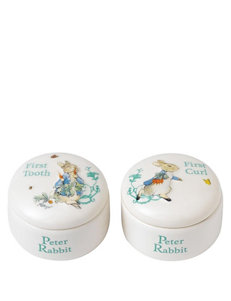 Gund 2-pk. Peter Rabbit Keepsake Boxes