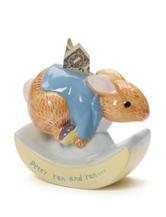 Gund Peter Rabbit Ceramic Rocking Bank