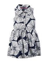 Carter's® Black & White Floral Print Shirt Dress – Girls 4-8
