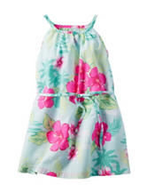 Carter's® Multicolor Tropical Print Woven Dress – Girls 4-8