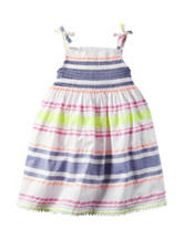 Carter's® Multicolor Striped Print Woven Dress – Girls 4-8