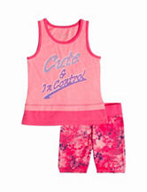Wishful Park 2-pc. Cute & In Control Short Set –  Toddler & Girls 5-6x