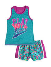 Wishful Park 2-pc. Play Win Repeat Shorts Set –  Toddler & Girls 5-6x