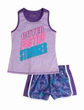 Wishful Park 2-pc. Cuter Faster Stronger Tank TOp & Shorts Set –  Toddler & Girls 5-6x