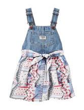 Oshkosh B'Gosh® Denim Bandana Skirtall – Toddler Girls