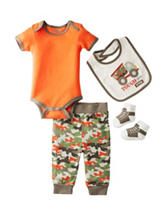 Baby Gear 4-pc. Tough Guy Crew Pants Set – Baby 0-12 Mos.