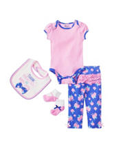 Baby Gear 4-pc. Thank Heaven Pant Set – Baby 0-12 Mos.