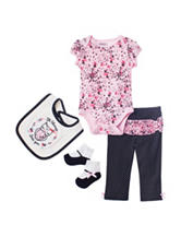 Baby Gear 4-pc. Always Love You Pant Set – Baby 0-12 Mos.