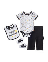 Baby Gear 4-pc. Moon & Back Pant Set – Baby 0-12 Mos.