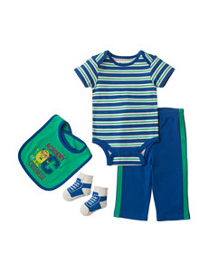 Baby Gear 4-pc. Academy Of Cuteness Pant Set – Baby 0-12 Mos.