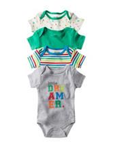 Baby Gear 4-pk. Dreamer Bodysuits - Baby 0-9 Mon.