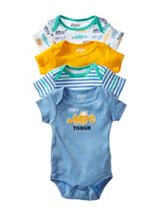 Baby Gear 4-pk. Tiny But Tough Bodysuit Set – Baby 0-9 Mos.