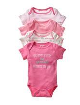 Baby Gear 4-pk. Princess Bodysuits - Baby 0-9 Mos.