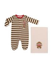 Baby Starters I Love My Monkey Sleep & Play with Blanket - Baby 0-9 Mos.