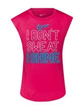 Nike® I Don't Sweat Top – Girls 4-6x