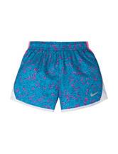 Nike® 10k Gamma Blue Shorts – Girls 4-6
