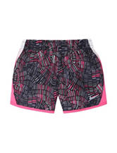 Nike® 10K Multicolor Geometric Print Shorts - Girls 4-6x
