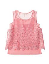 Jessica Simpson McKenna Peony Crochet Tank - Girls 7-16