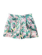 Jessica Simpson Tropical Print Shorts – Girls 7-16