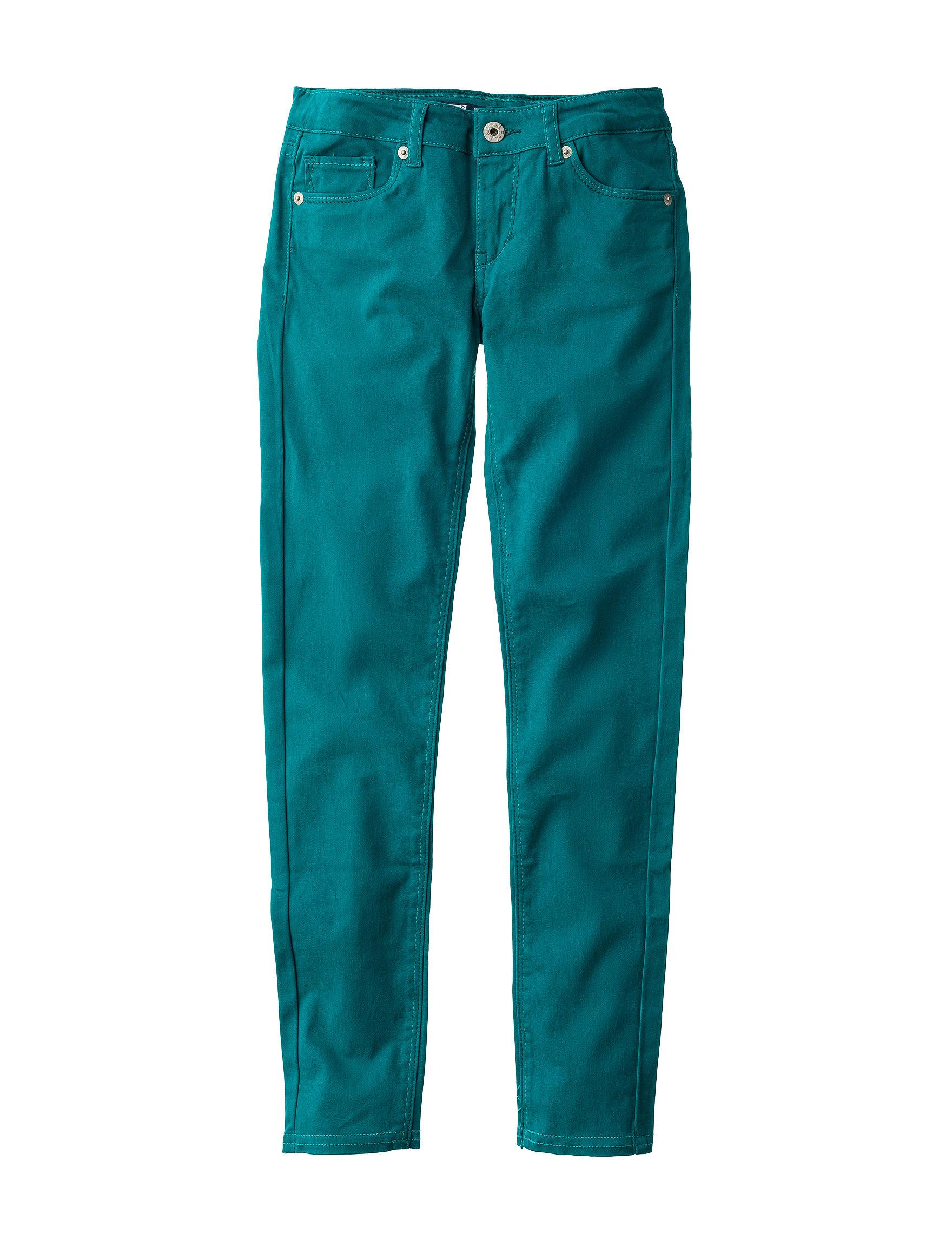 Levi's Turquoise Skinny