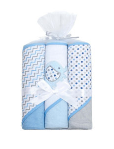 Baby Gear 3-pk. Elephant Hooded Towel Set