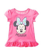 Disney Pink Minnie Mouse Ruffle Top – Toddler Girls