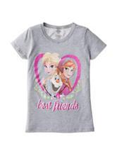 Frozen Best Friends Top - Girls 4-6x