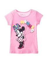 Disney Pink Minnie Mouse Top - Girls 4-6x