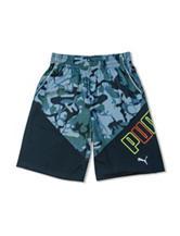 Puma® Camouflage Print Shorts - Boys 8-20