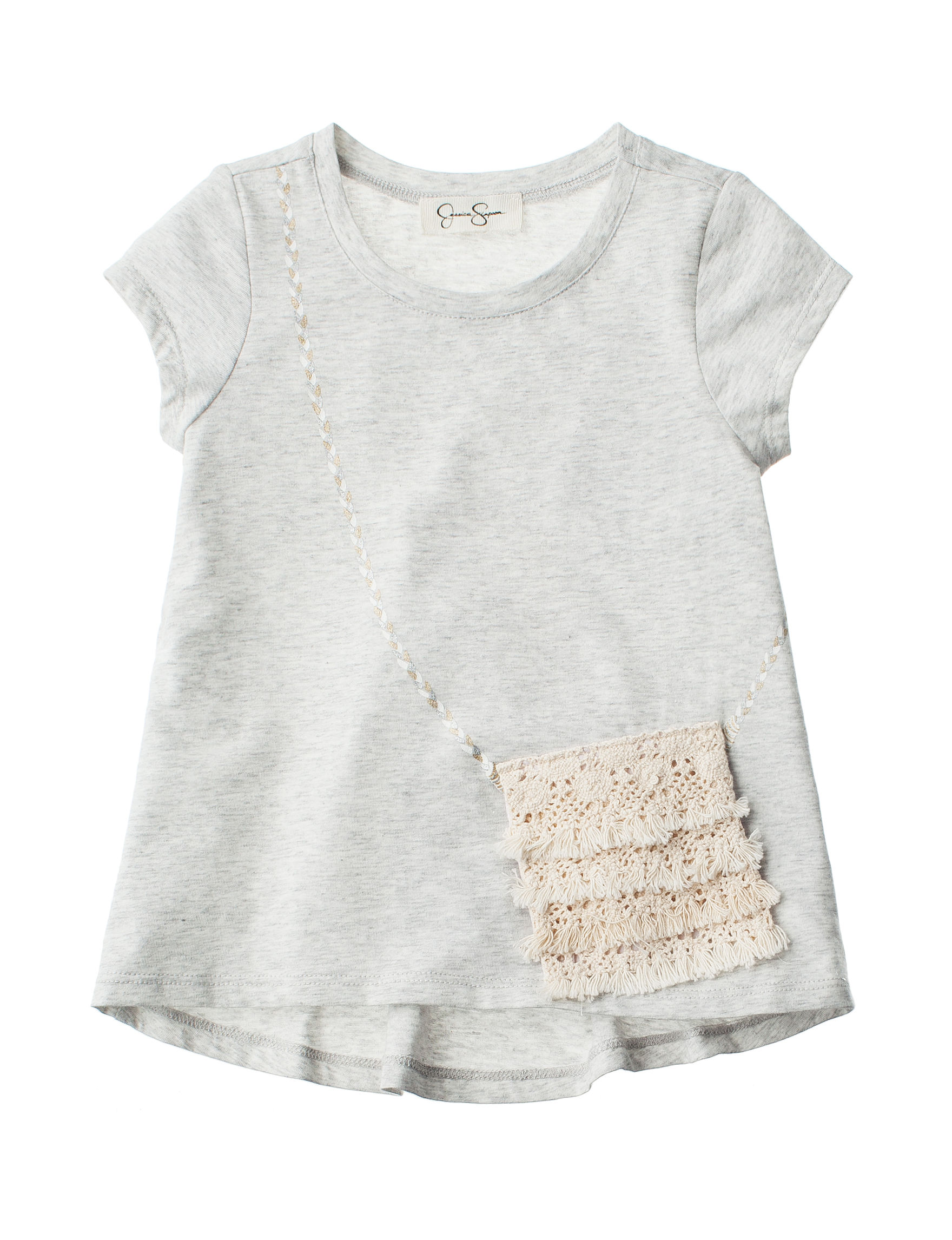 Jessica Simpson Light Heather Grey