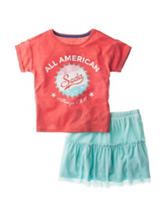 Jessica Simpson Soda Top & Skirt Set - Toddlers & Girls 4-6x