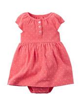 Carters® 2-pc. Dot Print Dress & Cardigan Set - Baby 0-12 Mos.