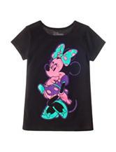 Disney Minnie Mouse Neon Top – Girls 4-6x
